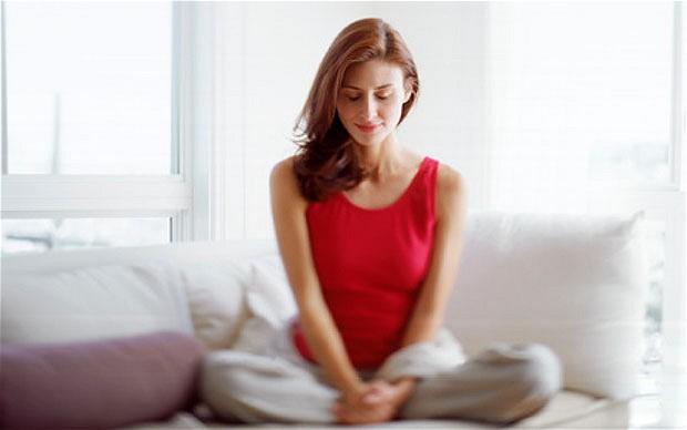 meditação grupo de mulheres